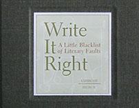 Book: Write It Right