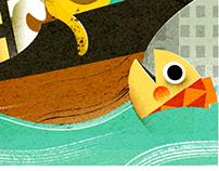 Spot illustrations for Monocle Magazine