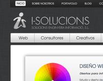 I-SOLUCIONS : Web Design WebSite