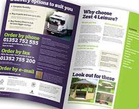 Zest 4 Leisure sales brochure