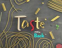 TASTE— Food Channel for FOX International Channels