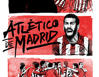 ATLETICO MADRID T-SHIRT DESIGNS