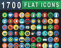 1,700 Flat Icons - Flat Web Icons Set | FlatIcon
