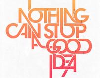 Thinking Around - Typographyc posters