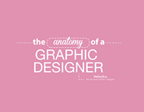 The Anatomy of a Graphic Designer (female)