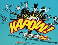 KAPOW! comics return to EMU!