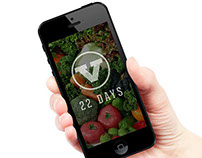 22 Day Vegan Challenge