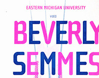 Beverly Semmes poster series