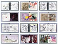 Selected Sketchbook Pages: Set 2
