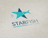 StarFish Logo Design + Branding
