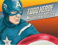 Heroes need Gadgets