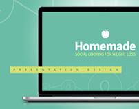 Homemade // Presentation Design