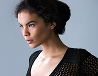 Model Test -  Jade at Wilhelmina Models NYC.