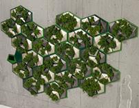 Hydro Hex - Vertical Garden
