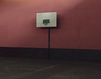 BasketBall Field, Belize And Guatemala