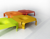 MODULA -   coffee table