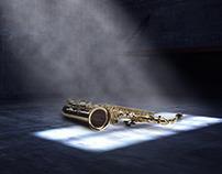 Doação de instrumentos musicais
