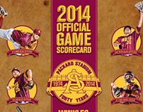2014 ASU Baseball Scorecard