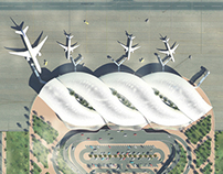 The 3D of: Abha Airport Proposal