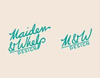 Maiden & Whelp Design Branding