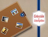 Colección Estampillas