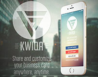 Kwiqa App Concept Design