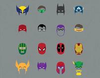 Comic Masks