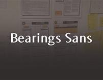 Bearings Sans (+free font)