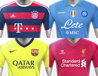 European Football Kit Designs