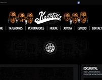 "Tattoo website ""Kaustika"""