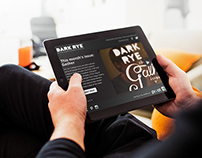 Dark Rye New Issue and Welcome Responsive Templates
