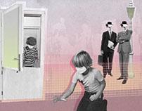 Contemporary Collage Politics (Animated illustrations)