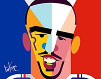 #Franck_Ribery #France #Brazil #Worldcup2014