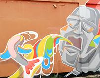 Mural - The Poet