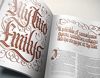 Lettering for magazines