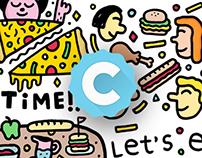 Cabin App - Stickers