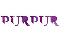 Café Purpur, Logo design