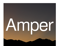 Amper - a sans-serif typeface