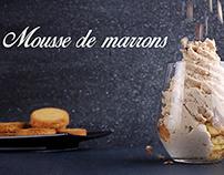 Mousse de marrons