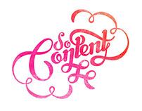 So Content Magazine branding
