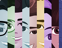 - UEsan - Personajes
