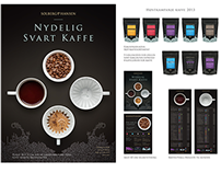 """2013 Autumn Campaign """"Delicious Black Coffee"""""""