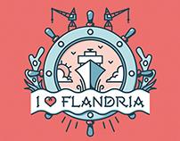 Flandria - Tattoo illustration