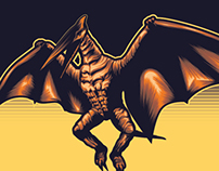 Ghidrah! The three headed monster