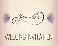 Spring Wedding Invitation - Seed Paper