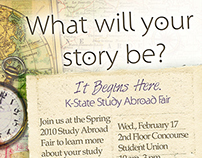 K-State Study Abroad Branding