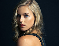 Model Test - Sydney at Elite Models NYC.
