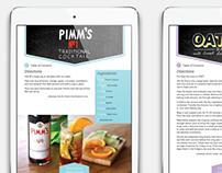 Handlettered Digital Cookbook