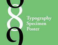 Typography Specimen Poster