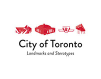 Toronto Landmarks and Stereotypes (20+ Vectors)
